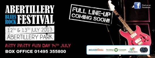Abertillery  Rock Blues Festival 2013