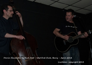 Derrin Nauendorf and Rich Foot - West End Club - Barry - April 2013 - 23.28l