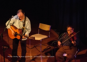 Martin Carthy & Dave Swarbrick - St David's Hall - Feb 2014- DSC_0231l