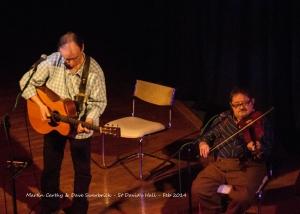Martin Carthy & Dave Swarbrick - St David's Hall - Feb 2014- DSC_0231l